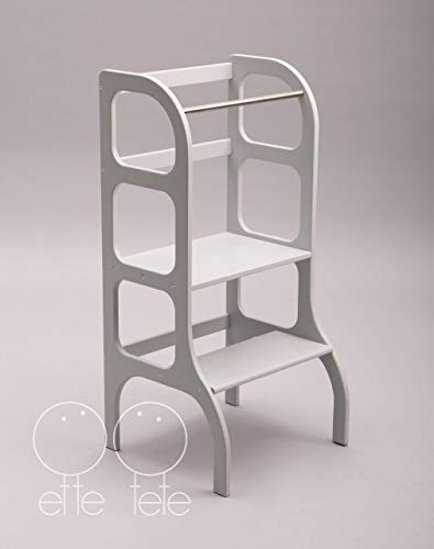 Toddler Step Stool Kitchen Helper Learning Tower