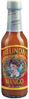 Mango Hot Sauce - Melinda's Original Habanero Mango Sauce 5oz (Pack of 3)