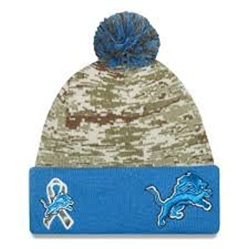 ... uk mens new era nfl 2015 detroit lions salute to service knit hat digi  camo size 466cb4e3e