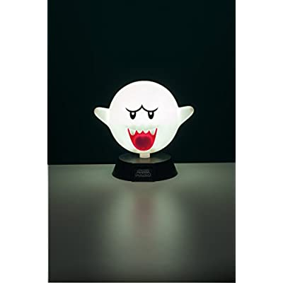 Super Mario Bros. Boo Ghost 3D Night Light - Decorative Lamp Collectible: Home Improvement