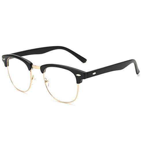 Pro Acme Blue Light Blocking Glasses Semi Rimless Frame Filter Blue Ray Computer Glasses