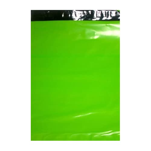 100 Lime Green 9x12 Poly Mailers