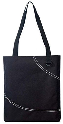 DDI 1902379 Poly Tote Bag - Black by DDI