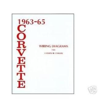 Amazon.com: 1963 1964 1965 CORVETTE Wiring Diagrams ...