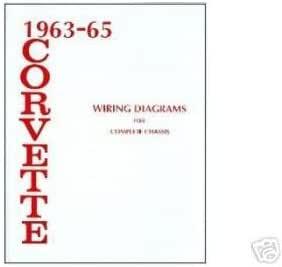 Amazon.com: 1963 1964 1965 CORVETTE Wiring Diagrams Schematics: Everything  Else