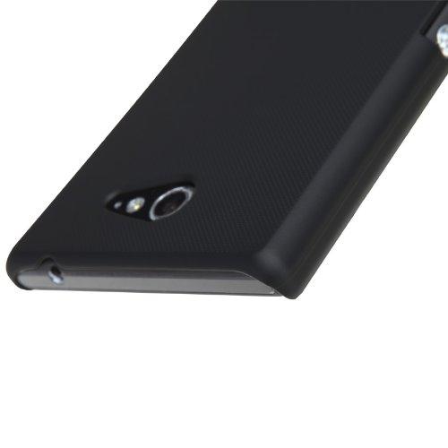 IVSO Xperia M2 Super Matte Shield Cover High Quality Case (For Xperia M2, Black)