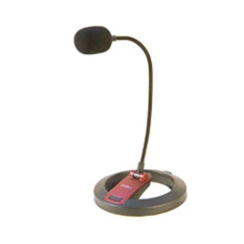 Desktop Microphone Gooseneck (Simply Silver - Details about Connectland Flexible Gooseneck Microphone with Desktop Stand -38 dB +/- 2 dB)