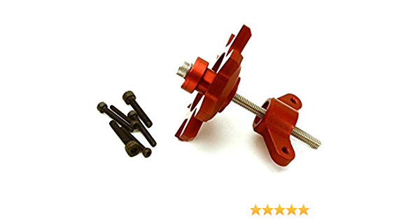 INTEGY RC OBM-1340 Alloy Spur Gear Adapter w// Slipper Kit for 1//10 Axial SCX-10