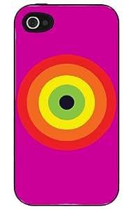Bulls Eye Gay Pride iPhone 4/4s case