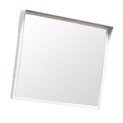 ホップ アクリル製 道路反射鏡 角型60cm×50cm HPLA-角5060S白 日本製 道路反射鏡協会認定商品   B01J74YOJW