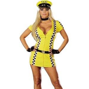 Tina Taxi Driver Costume - Small -