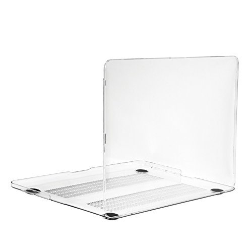 TOP CASE Clear Crystal Hard Case for MacBook Pro 13.3-Inch Retina Display (Release 2012-2015) Model: A1425 and A1502