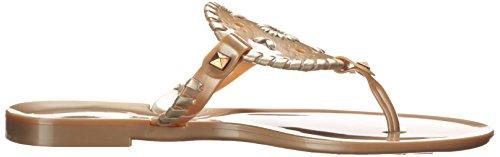 Jelly Thong Jack Georgica Gold Sandal Rogers Women's Aqt66I