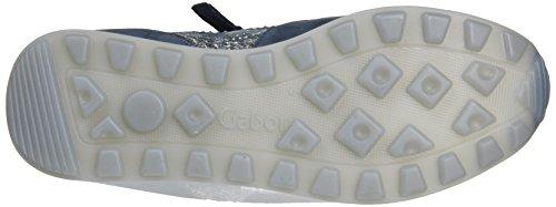 Gabor Women's Comfort Low-Top Sneakers Blue 7CHJspekD9
