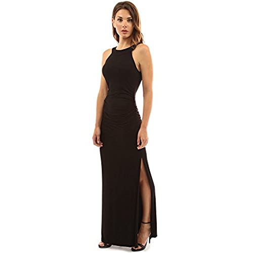black dress with high slits black dresses with slit amazon com 6585