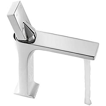 WANFAN Modern Commercial 8.66 Inch Single Handle Bathroom ...