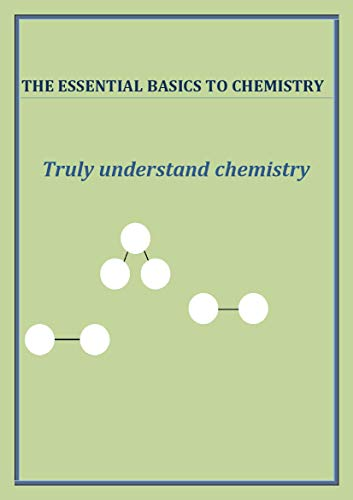 A short comfortable ebook which you will not regret buying looks into chemistry and the basics of it. Atoms. Molecules. Elements. Compounds. Mixtures. Ever wondered what air was actually made of, how to split cream from milk? This guide will help any...