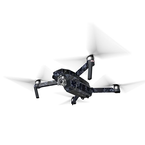 2d1656de975 Digital Navy Camo Decal for Drone DJI Mavic Pro Kit - Includes Drone Skin,  Controller