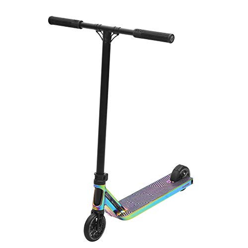 Triad Racketeer, Mid-Range Stunt and Tricker Scooter for Kids, Neo Chrome/Black