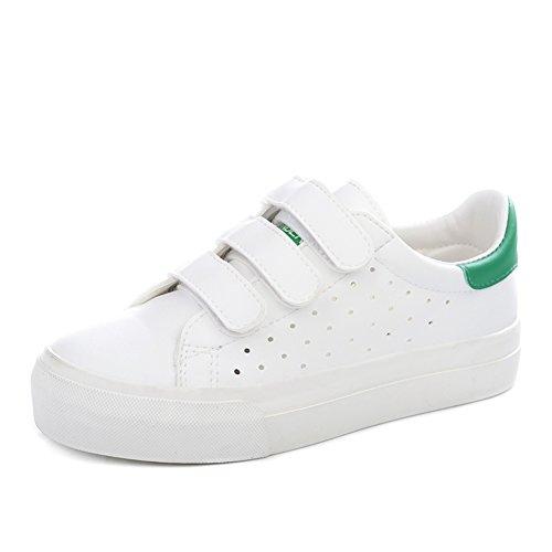 Verano aire fondo plano bajo corte, zapatos/Piso plano con zapatos clásicos/Calzado de deporte estudiantil D