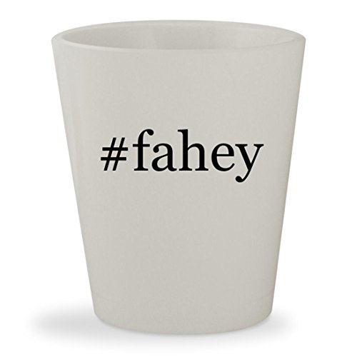 #fahey - White Hashtag Ceramic 1.5oz Shot - Claire Marie Glasses