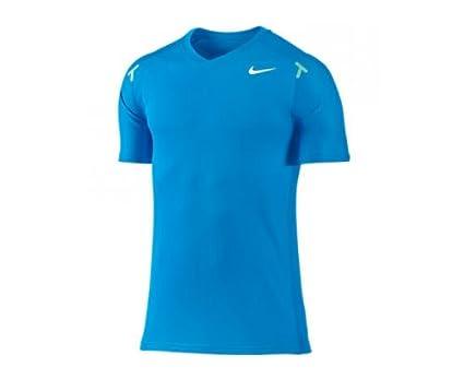 Nike - Camiseta de pádel para Hombre, tamaño M, Color Azul: Amazon ...