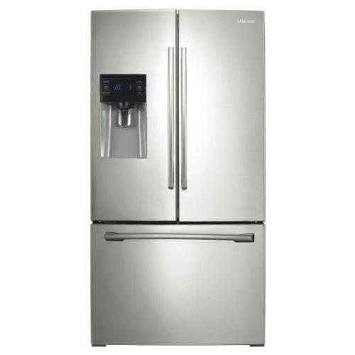 RF263BEAESP 26 cu. ft. Capacity French Door Refrigerator Wit