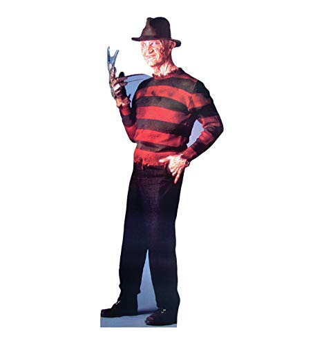 - Advanced Graphics Freddy Krueger Life Size Cardboard Cutout Standup - A Nightmare on Elm Street