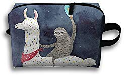 Best sloth riding llama welcome mat- purple list