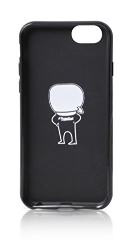 KARL LAGERFELD klhcp6htkka Coque de protection pour Apple iPhone 6/6S Noir
