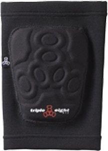 Triple 8 Covert Knee Pads, Black, Medium