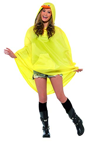 Duck Halloween Costume For Women (Smiffys Duck Party Poncho)