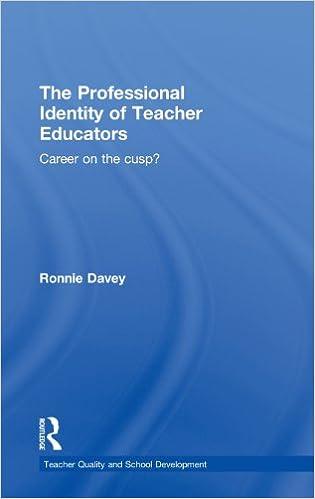 professional identity of a teacher