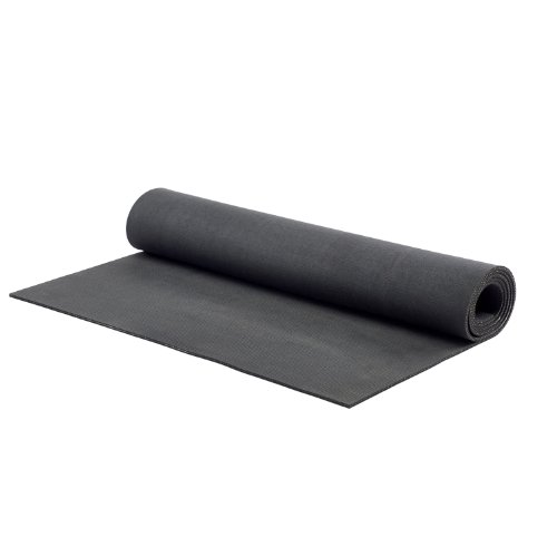 MERRITHEW Natural Rubber Mat, (Black) 0.2 inch / 5 mm
