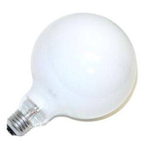 (Philips 60W 120V G40 White Long Life Globe Bulb, E26 Base)