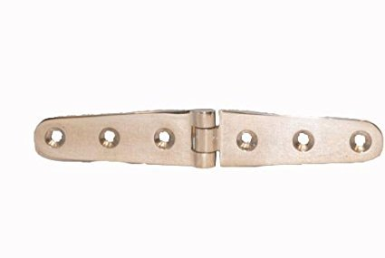 M&R INDUSTRIAL Stainless Steel 316 Boat Marine Door Hatch Compartment Strap Hinge 6