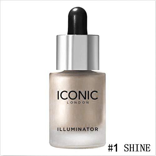 Xixou 3D Face Glow Liquid Highlighter Cream Brighten Makeup Foundation Primer Highlighter Shimmer