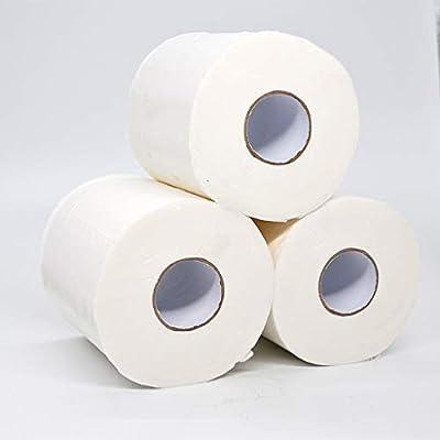 LILICHIC 6/8/12 Rolls Paper Towels White Soft Toilet Paper 3-Ply Paper Towels Rolls Soft Skin Friendly Paper Towels Napkin Paper Disposable Hand Towels Absorbent Paper Towels Bathroom Kitchen Parties: Kitchen & Dining
