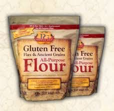 Premium Gold All-Purpose Flour, Flax and Whole Grain, 10 Pounds Made in USA - Kosher Certified by OU Pareve (Flour No Wheat)