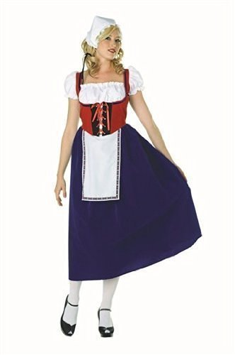 Milk Maiden Adult Costume (Milk Maiden Adult Costumes)