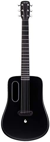 LAVA ME 2 Carbon Fiber Guitar with Effects 36 Inch Acoustic Electric Travel Guitar with Bag Picks and Charging