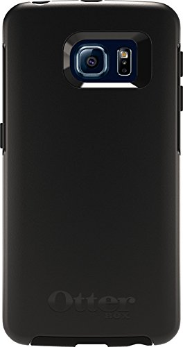 Price comparison product image Otterbox Symmetry Series Case for Samsung Galaxy S6 Edge - Standard Packaging - Black