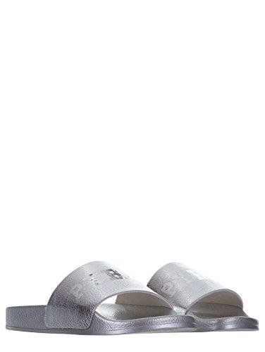 Para Pyrex Por Sintético De Zapatillas Material Estar Plateado Casa Mujer SqrSt06