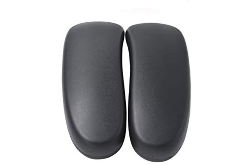 Classic Vinyl Arm Pads Pair For Herman Miller Aeron Chair - Graphite
