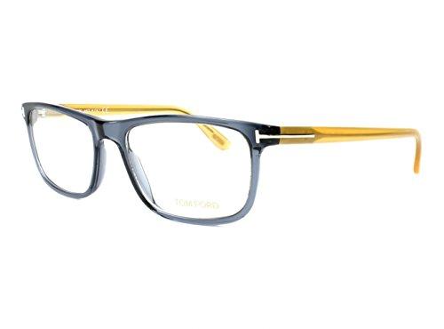 TOM FORD Eyeglasses FT5356 090 Shiny Blue - Optical Glasses Tom Ford 55mm