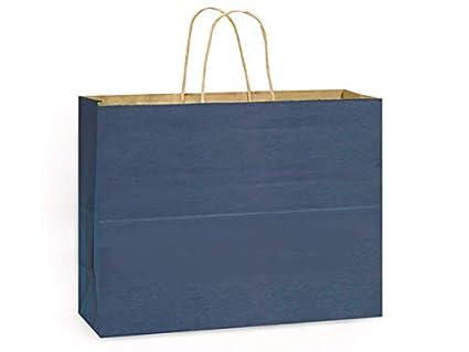 100% papel Kraft reciclado Tint bolsas - Vogue azul oscuro ...