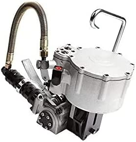 WXFCAS Herramienta de flejo Máquina de flejado de Metal Integrado Máquina de Bloqueo de Acero neumático Máquina de Bloqueo de Acero Máquina de flejo Tensor de flejes (Tamaño: a) (Size : A)