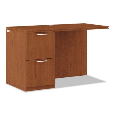 Arrive Left Return For Right Pedestal Desk, 48w x 24d x 29-1/2h, Henna Cherry, Sold as 1 Each by Generic