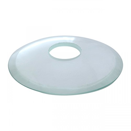 Replacement Waterfall Faucet Clear Glass Disc Plate | Renovator's Supply