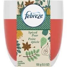 Candle Spiced Pear (Febreze Candle, Spiced Pear, 5.5oz)